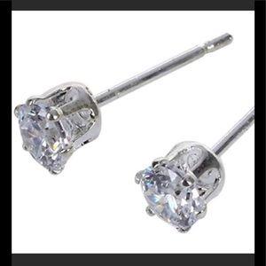 Jewelry - Princess Diamond Studs